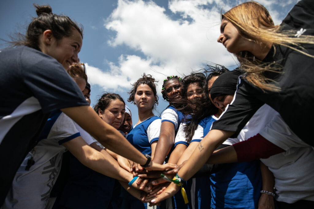 Hestia FC, from Athens, promotes the integration of refugee and migrant women through football.